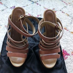 YSL Wedges. Size 37.5.